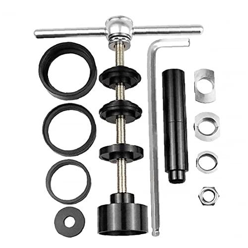 Bicicletas Prensa Kit de herramientas de instalación de eliminación de pedalier BB Headset taza del rodamiento Accesorios de instalación de reparación de bicicletas MTB, herramienta multifuncional