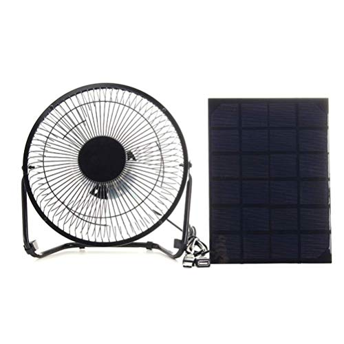 Estrella-L solar fan 5W solar panel plus 4 inch solar USB fan charging mobile phone MP3 Silent Fan Small Whirl Wind Leafless Fan Portable Button