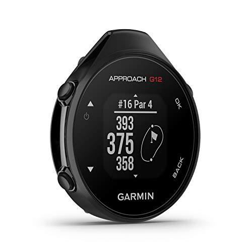 """Garmin Approach G12 - GPS-Golfgerät mit Entfernungsangaben zum Grün und zu Hindernissen. 1,3"""" Display, große Tasten, Messung & Aufzeichnung von Schlagweiten. 30 h Akku, für 42.000 Golfplätze weltweit"""