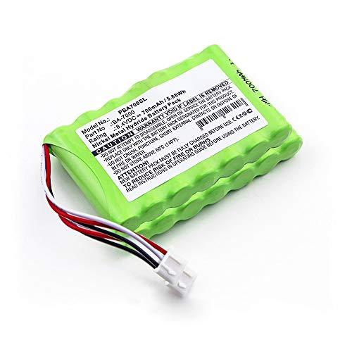 subtel 2X Qualitäts Akku kompatibel mit Brother P-Touch 7600VP, PT 7600VP - BA-7000 (700mAh) Ersatzakku Batterie