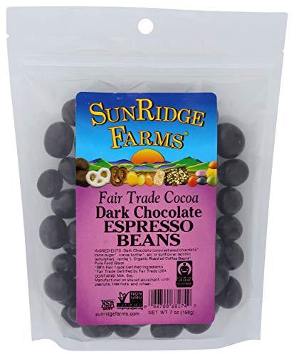 SUNRIDGE FARMS Dark Chocolate Espresso Beans, 7 OZ