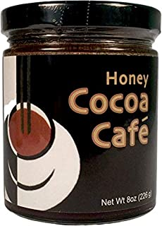 Zen Bear | Honey Cocoa Cafe` | Premium Clover Honey Sweetened Organic Chocolate Cocoa With Rich Dark Italian Expresso Coff...