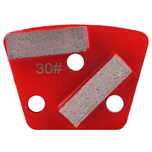 Almohadilla de pulido trapezoidal, pulido de diamante trapezoidal, 3 piezas para revestimientos finos mil que eliminan adhesivos