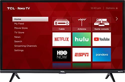 TCL 32S327 32 Inch 3-Series Roku Smart HD TV (Renewed)