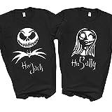 Her Jack His Sally Skellington Nightmare Halloween...