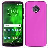 TBOC® Rosa Gel TPU Hülle für Motorola Moto G6 (5.7 Zoll)