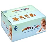 Nappy Sacks - Scatola gigante, 4 pacchix 200 sacchettini (800in totale)...