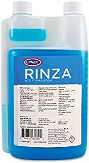 Urnex Rinza Acid Formula Milk Frother Cleaner, 33.8-Ounce