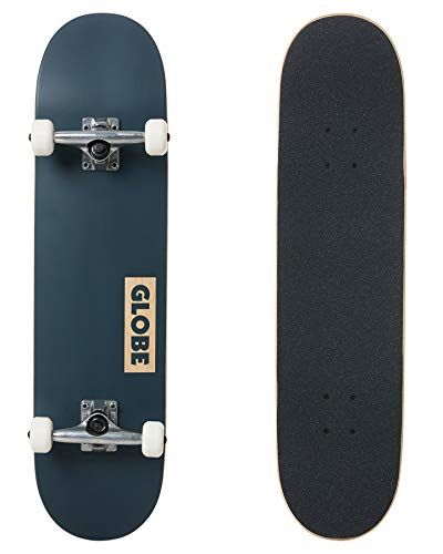Globe Goodstock Skateboard, Unisex, Erwachsene, Blau (Navy), 29,5 cm