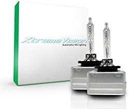XtremeVision HID Xenon Replacement Bulbs - D3S / D3R / D3C - 5000K Bright White (1 Pair) - 2 Year Warranty