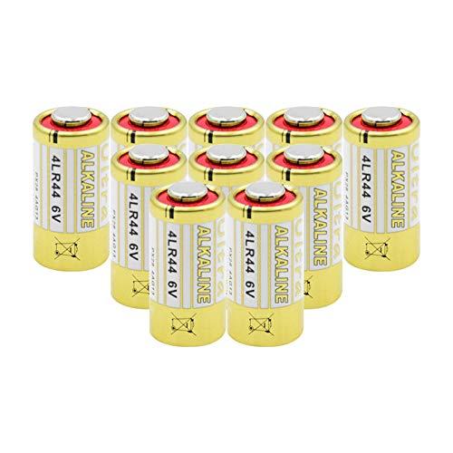 10PCS 6V 4LR44 150mAh Batería alcalina Seca, celda Primaria GP476 K28 V28 PX28AB L1325 1414A V4034PX PX28L K28L