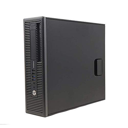 HP EliteDesk 800 G1 SFF Desktop-PC | Office PC / Multimedia Computer | Intel Core i5-4570 @ 3,2 GHz | 8GB DDR3 RAM | 500GB HDD | DVD | Windows 10 Pro (Generalüberholt)