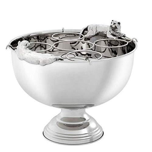 Eichholtz - Jordan - Getränkekühler, Champagnerkühler, Weinkühler - Metall - Maße (LxBxH): 43,5 x 39 x 23,5 cm