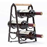 Kingrack estante de vino de cobre metálico...
