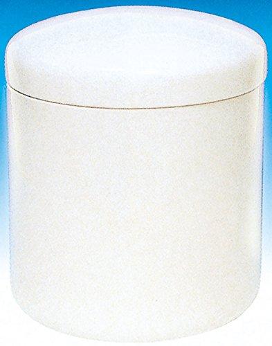 せともの本舗 骨壺 白切立 胴径約6×高さ約9cm