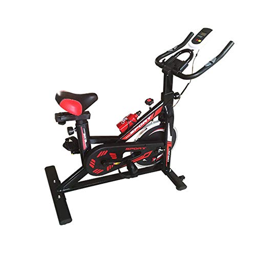 Find Discount LJHHH Fitness Exercise Bike with Resistance Bands,Sporting Gym Bike Equipment Cycle Tr...