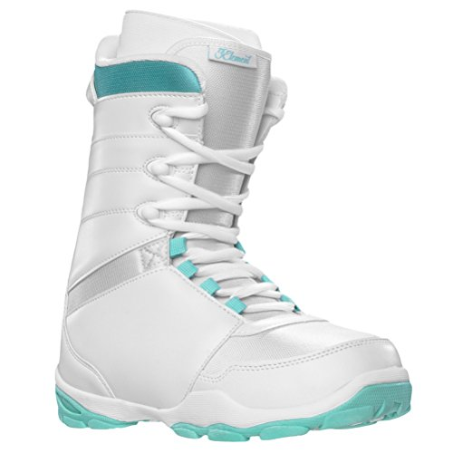 5th Element L-1 Womens Snowboard Boots - 9.0/White