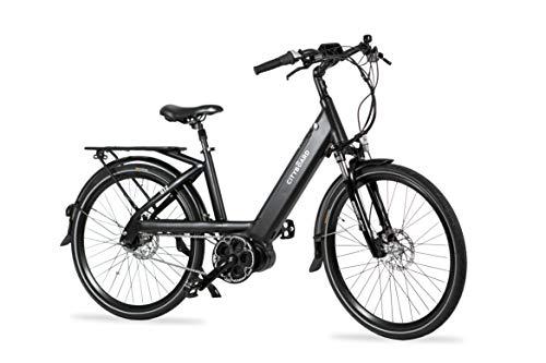 Cityboard GT2 Bicicleta Eléctrica Montaña Motor Central 26', Adultos Unisex, Negro