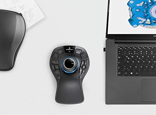 3Dconnexion SpaceMouse Pro Wireless (3D-Maus, kabellos, schwarz)