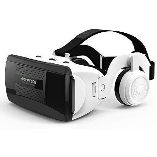 VR Brille, kompatibel mit iPhone und Android Handy 's bis 5.8 Zoll z.B. iPhone SE 6 6s 7 8 X XS, Samsung Galaxy S6 S7 S8 S9, Huawei p10 p20,LG G6, HTC, Pixel - G06EB