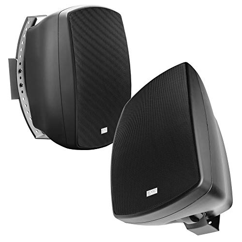 OSD Audio Patio Pro Speaker 65quot Indoor Outdoor IP65 Composite Cabinet Black Pair AP650