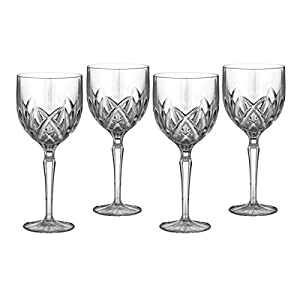Marquis By Waterford Brookside Goblets, 8.5″, Clear