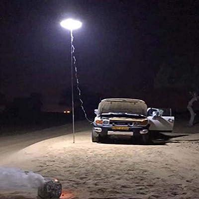 Beyonds Camping Lantern - Outdoor Telescopic COB Rod Camp Lamp LED Desert Prairie Camp Light, for Hiking Patio BBQ Grill Party Tent Garden, Waterproof Tent Lamp, Fishing Lights, Beach Travel Light