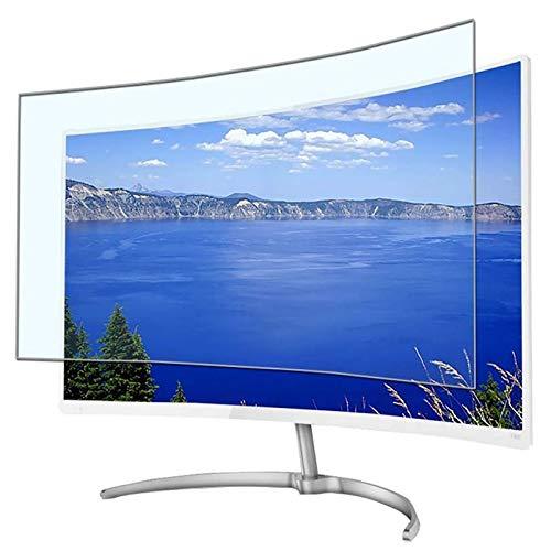 RPOLY Ultra-Clear 32-75 Zoll TV Displayschutz Anti-Blaulicht, Bildschirmschutzfolie Blendfreie Schutzfilter Augenschutz Bildschirmschutz für TV/LCD Fernseher & PC/Mac,55inch/1221x689mm