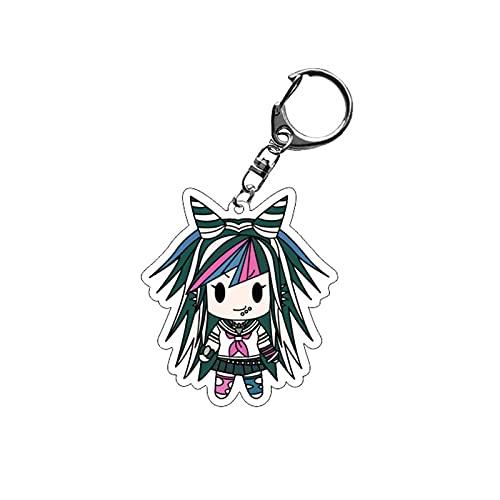 xuyang Anime Danganronpa D4 llavero acrílico Kokichi llavero llavero llavero accesorios bolsa joyería para aficionados amigos regalo (color : estilo 4, tamaño: 6 cm)