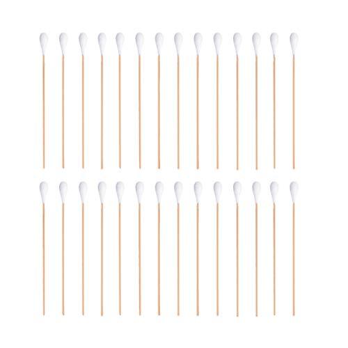 Lurrose 1 verpakking 100 stuks wattenstaafjes wegwerp-Q-Tips-topper multifunctionele desinfectiestupfer voor wondreiniging