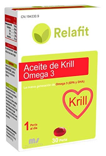 Relafit Aceite de Krill Omega 3-30 Perlas