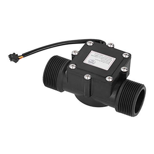 Mxzzand Medidor de Flujo Industrial con Sensor de Flujo de Agua Resistente al Desgaste de plástico para bebederos