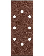 kwb 818188 Quick-Stick sandpapper – för oscillerande slipmaskiner K 40, K 80, K 120, K 180 för trä och metall, 93 mm x 230 mm, korund, perforerad typ-A (30 st.)