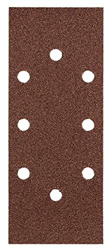 kwb kwb Quick-Stick Schleifpapier – für Schwing-Schleifer K 40, K 80, K 240, für Holz und Metall, 93 mm x 230 mm, Korund, gelocht Typ-A (30 Stk.) 93 x 230 mm (gelocht, typa)