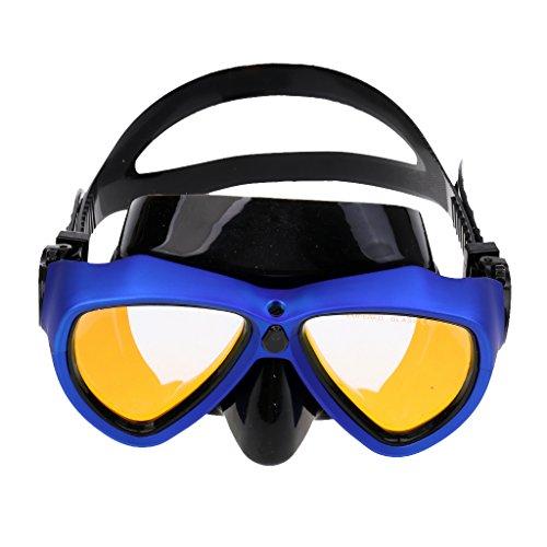 FLAMEER Erwachsene Tauchen Maske Anti UV Galvanik Schnorchelbrillen Für GoPro