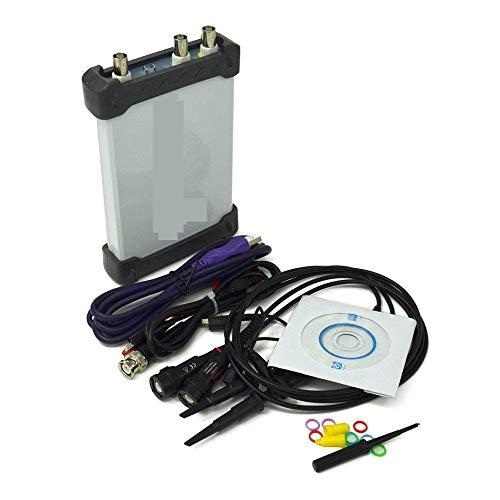 Instrustar Isds205b 5 en 1 Multifunción de PC USB Osciloscopio Digital Digital + Analizador de Espectro + Data Recorder + DDS +Barrido 20 m 48 MS/s