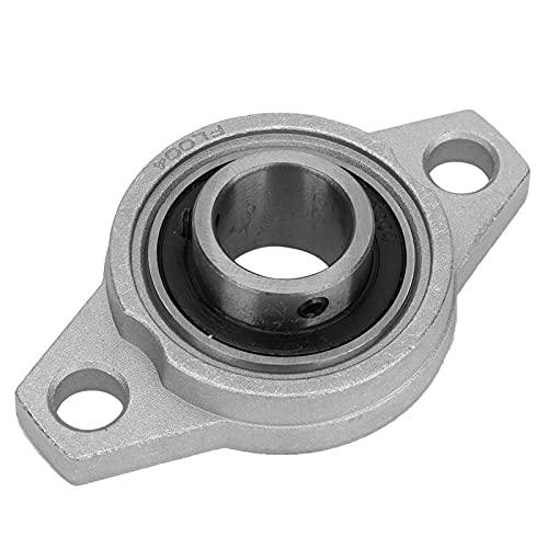 KFL004 Cojinete de aleación de aluminio de zinc en miniatura Brida de bloque de almohada Cojinete rómbico Soporte de bloque de almohada de alineación automática Mini rodamiento de inserción de bola in
