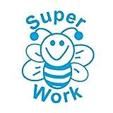 "Stamper Solutions Stempel ""Super Work Bee"" - Blau (vorgefärbt)"