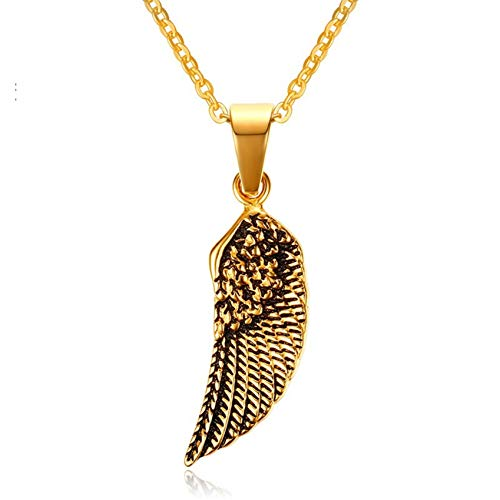 Ubestlove Gold Angel Wing Necklace Christmas Necklaces for Teenage Girls 18th Birthday Necklace