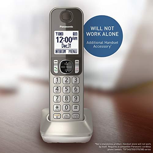 Panasonic Cordless Phone Handset Accessory Compatible with KX-TGF350N / KX-TGF352N & KX-TGF353N...