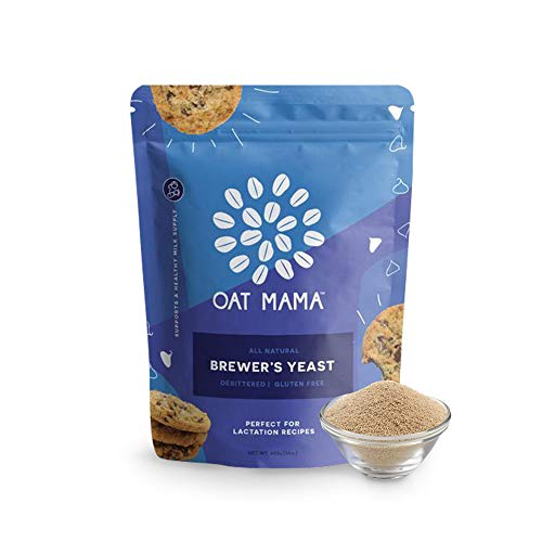 Brewers Yeast for Lactation Support, Brewers Yeast Powder with B Vitamins for Lactation Cookie Mix, Free from Gluten, Egg, Soybeans, Peanuts, and Dairy - Oat Mama