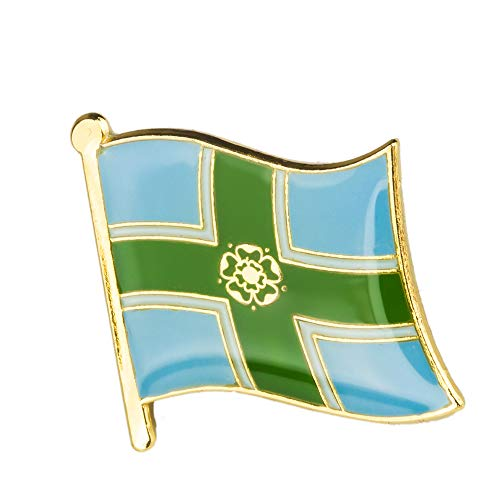 Patch Nation Verenigd Koninkrijk Groot-Brittannië Shires, provincies, eilanden & districten vlaggen Metal Pin Badge Brooch