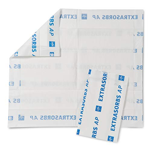 Medline - MSC303625 Extrasorbs Drypad Underpads Air Permeable 30 x 36 inches (Pack of 25)