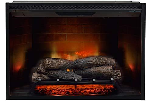 Dimplex Firebox Revillusion 36 inch (36 inch), ingebouwd, elektrisch, zwart, binnen – open haard (230 V, 50 Hz, 2000 W, 19 W, 2000 W, 944 mm)
