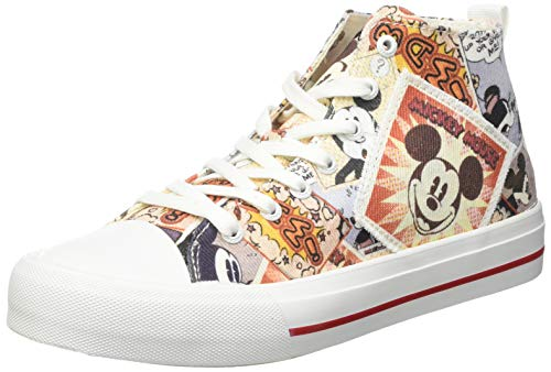 Desigual High, Sneakers Woman Donna, alle Frute, 40 EU