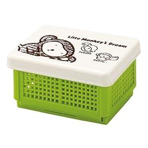 福井クラフト 弁当箱 日本製 ランチボックス サンドウィッチバスケットランチ グリーン ZA-1196