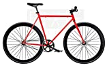Bicicletta monomarca Single Speed Fix 2 - Rosso T-56 cm