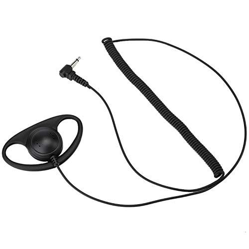 イヤピースノイズリダクションラジオヘッドセット3.5mm、ケンウッド用、モトローラ用、 用のみを聞く