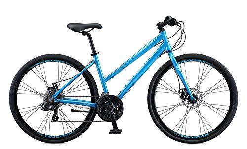 Schwinn Volare 1200 Adult Hybrid Road Bike, 28-inch wheel, aluminum frame, Blue