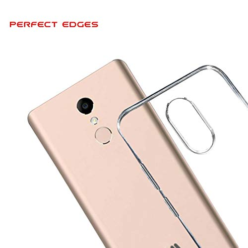 FCS Transparent Full Protective Back Cover for- Micromax Canvas Selfie 2